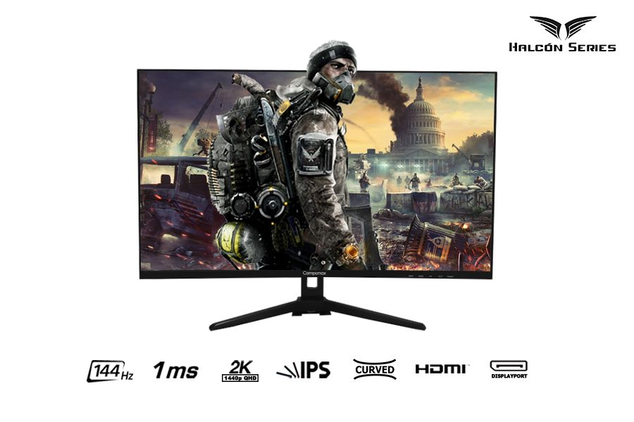 Halcón Series Monitor Gaming 32